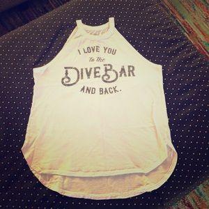 Dive bar tank
